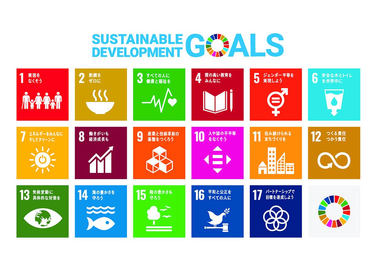SDGs-17 Goalsイメージ図